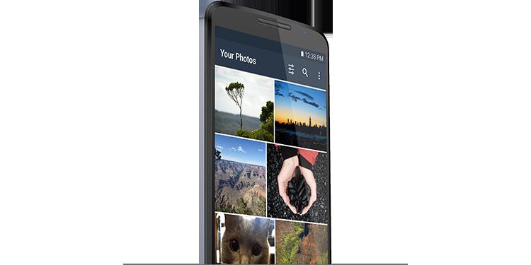 Almacenamiento seguro para tus fotos