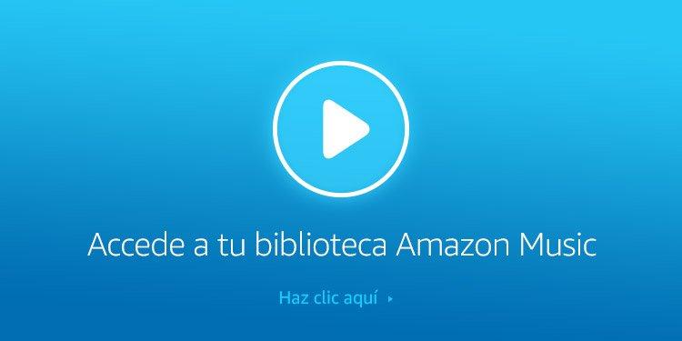 Accede a tu biblioteca Amazon Music