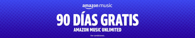 90 días gratis - Amazon Music Unlimited