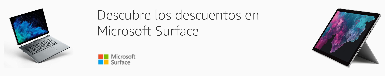Descuentos en Microsoft Surface