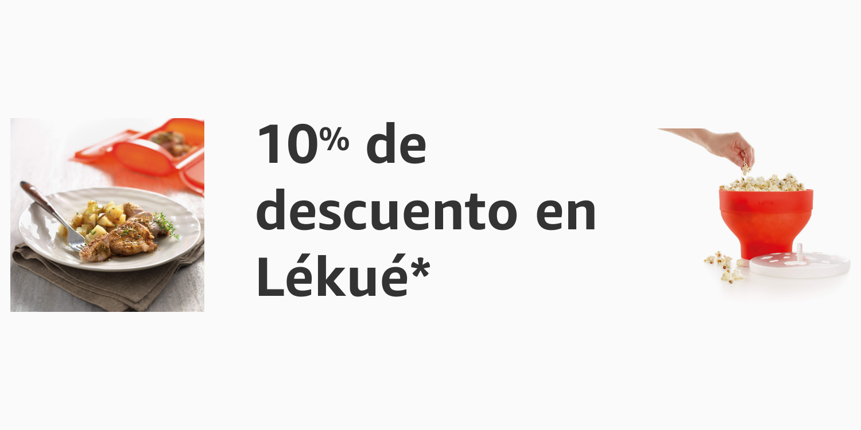 10% de descuento en Lékué
