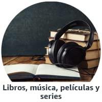 Libros, música, películas y series