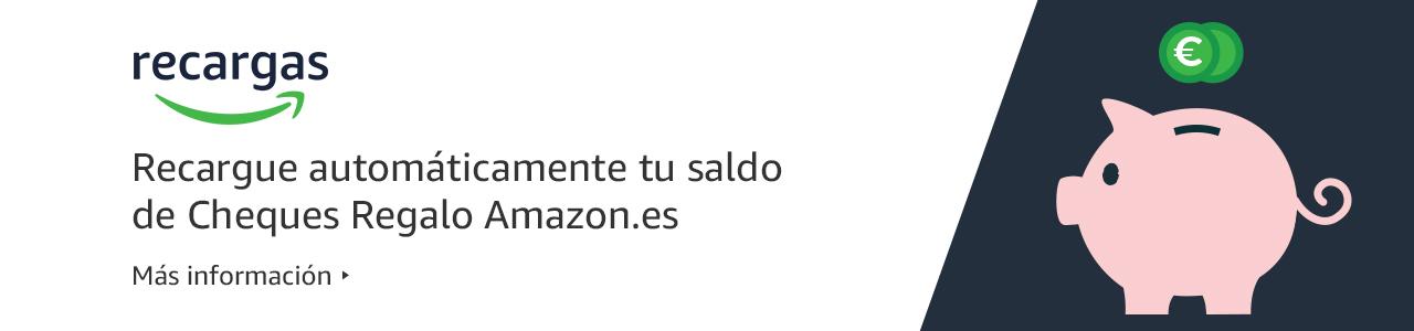 Recarga automáticamente tu saldo de Cheques Regalo Amazon.es