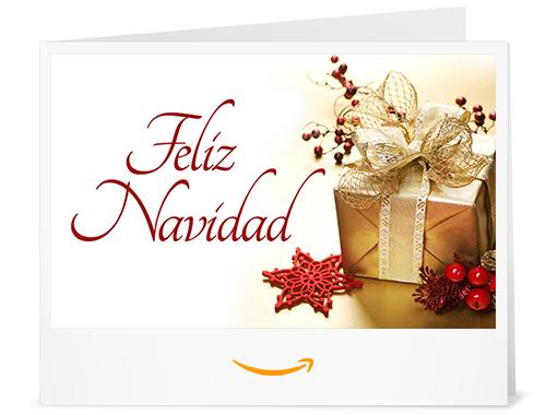 Cheque Regalo de Amazon.es - Imprimir - Regalo de Navidad