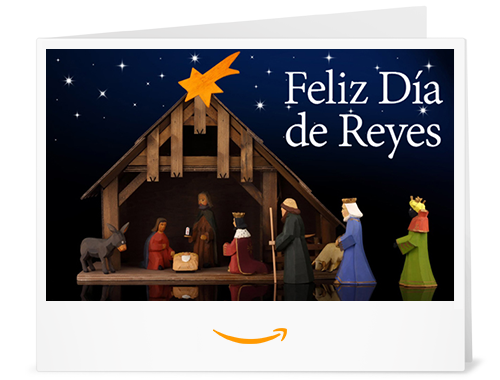 Cheque Regalo de Amazon.es - Imprimir - Nacimiento de Navidad