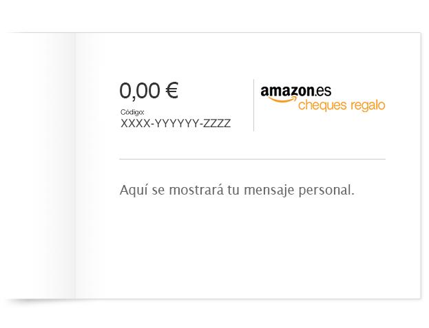 Cheque regalo amazon premium
