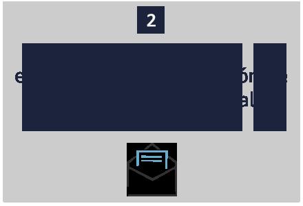 Paso 2 : Recibirás por correo electrónico la confirmación de tu crédito promocional de 5€.