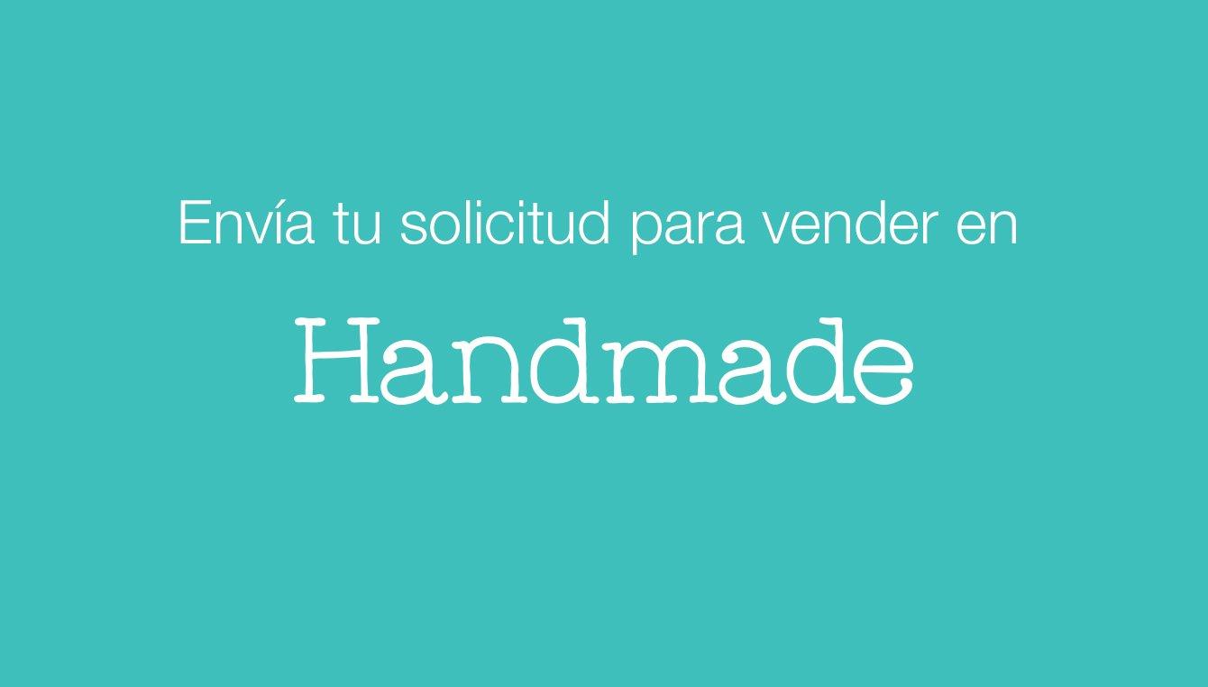Envía tu solicitud para vender en Handmade