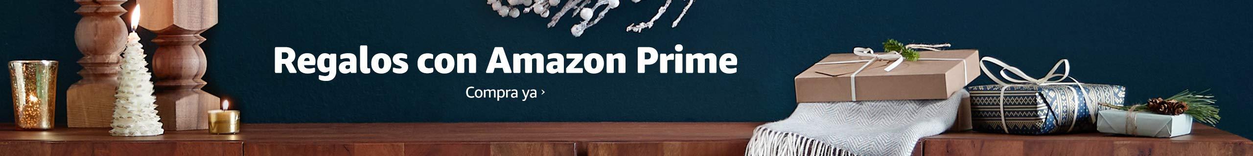 Regalos con Amazon Prime