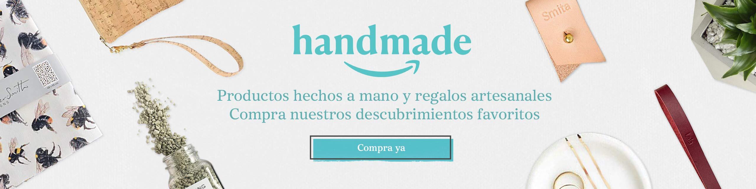 Una colección de productos seleccionados por miembros del equipo de Amazon Handmade.