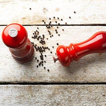Molinillos de sal y pimienta