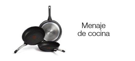 Menaje de cocina: sartenes, ollas y mucho más