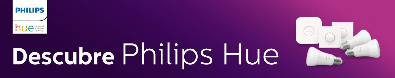 Promoción 20% de descuento al comprar 2 productos Philips Hue