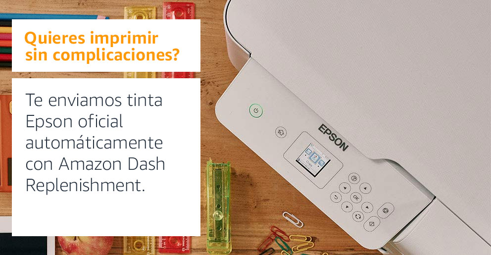 Amazon Dash Replenishment @ Amazon.es