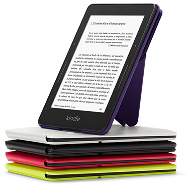 Amazon - Funda Origami para Kindle Voyage, Negro: Amazon.es