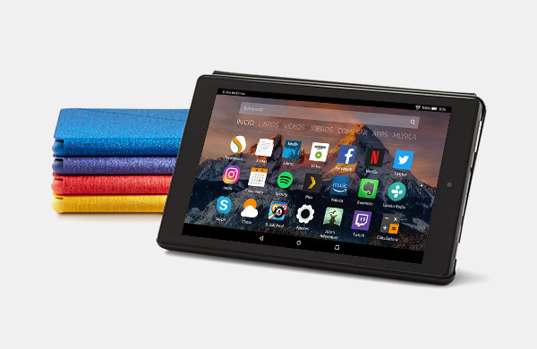 Amazon - Funda para Fire 7 (tablet de 7 pulgadas, 7ª