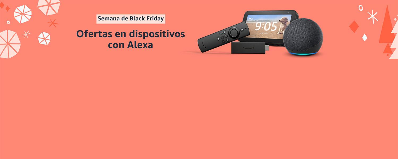 Ofertas en dispositivos con Alexa