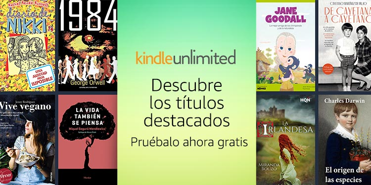 Ya disponible en Kindle Unlimited