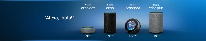 Presentamos los dispositivos Echo