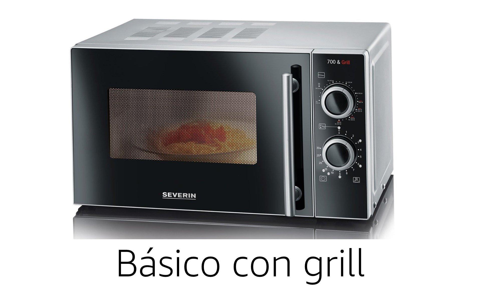 Microondas básico con grill
