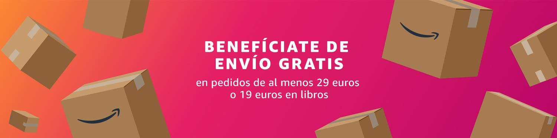 Envío gratis a partir de 29 euros