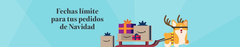 Fecha límite pedidos de Navidad Amazon