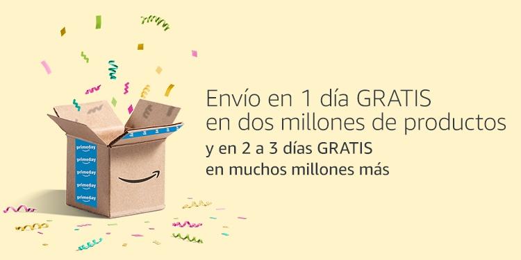 Envío en 1 día GRATIS en dos millones de productos
