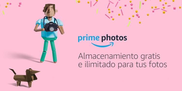 Almacenamiento gratis e ilimitado para tus fotos
