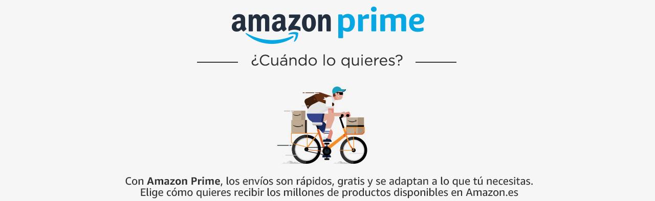Prime: Opciones de Envío