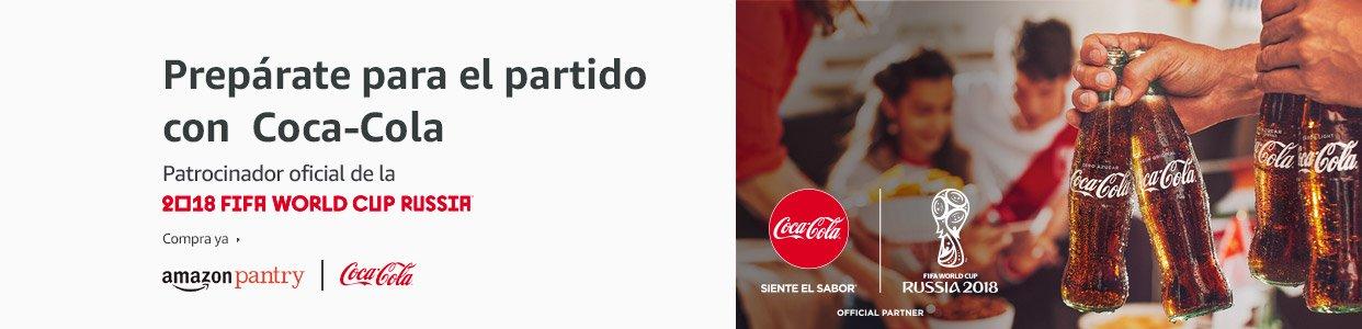 Disfruta del mundial con Coca Cola