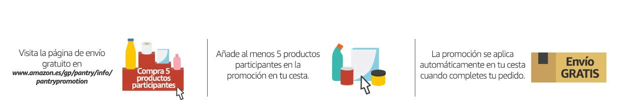 Descubre Amazon Pantry @ Amazon.es