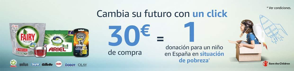 P&G hará una donación por cada 30€