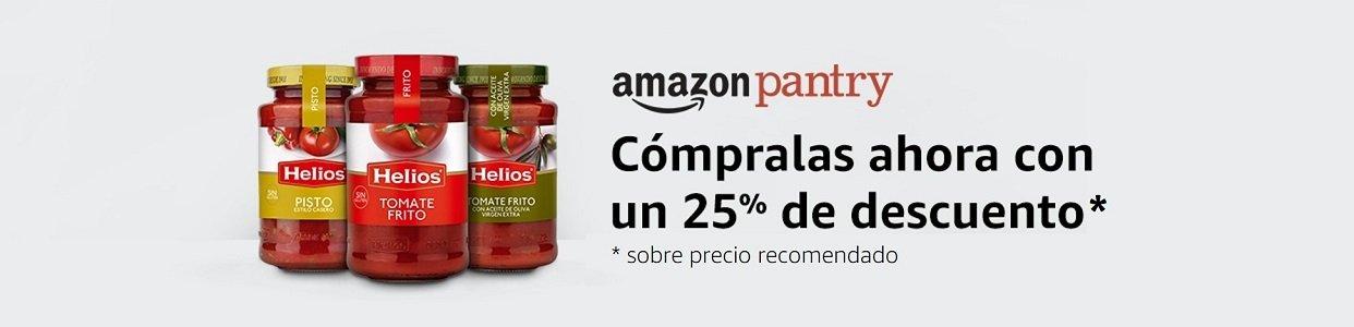 25% de descuento en una selección de salsas Helios