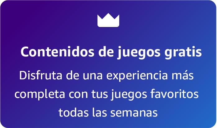 """""""Contenidos de juegos gratis Disfruta de una experiencia más completa con tus juegos favoritos todas las semanas."""""""