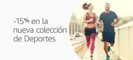-15% en la nueva colección Deportes