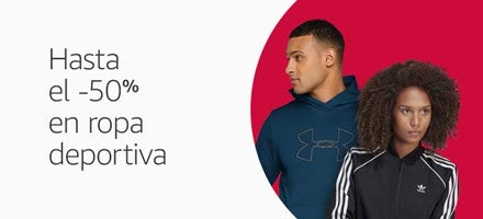 Hasta el -50% en ropa deportiva