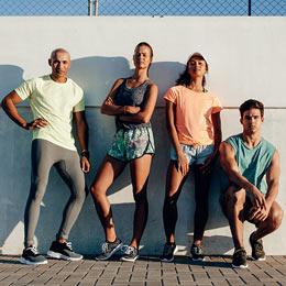 Hasta el -20% en la nueva colección de ropa deportiva.