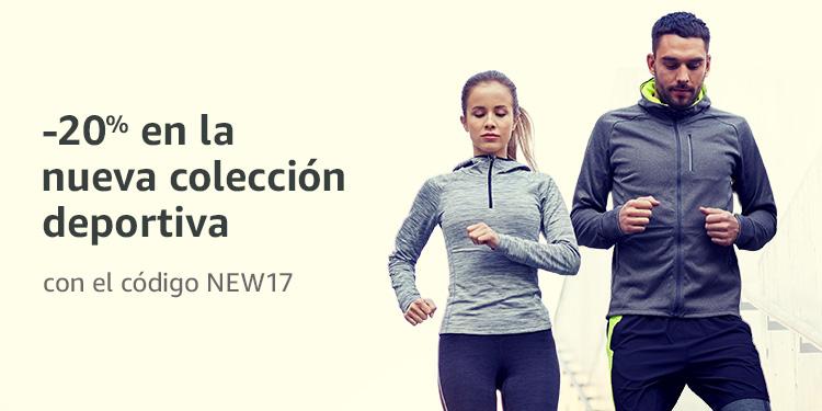 -20% de descuento en la nuova coleccion deportiva