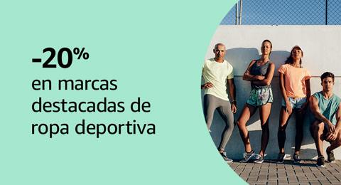 -20% en marcas destacadas de ropa deportiva