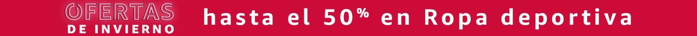 hasta el 50% en Ropa deportiva