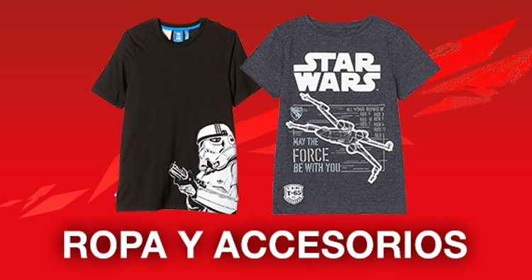 ropa y accesorios Star Wars
