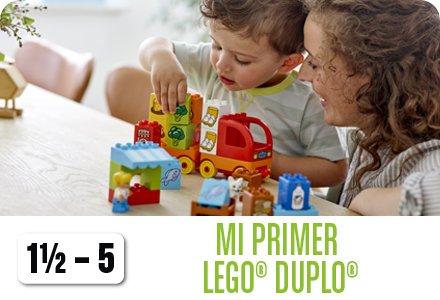 Mi primer LEGO DUPLO (1 1/2-5)