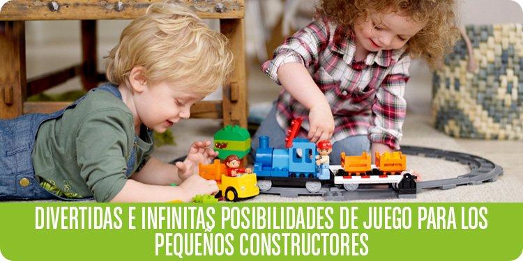 Divertidas e infinitas posibilidades de juegos para los pequeños constructores