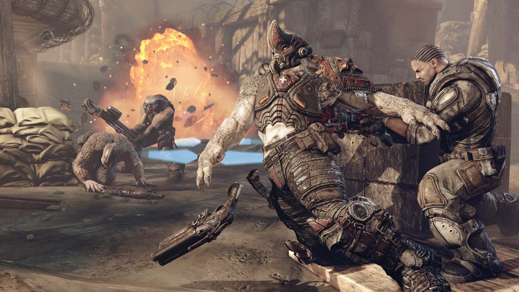 Gears of War 3: Edición Estándar: microsoft xbox 360