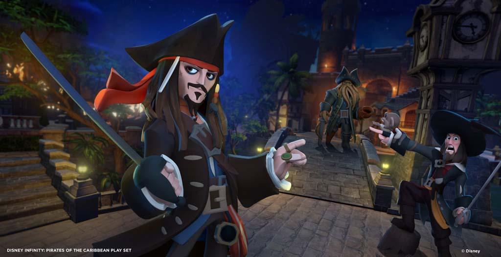 Disney Infinity - Figura Piratas Del Caribe: Barbossa: Amazon.es ...