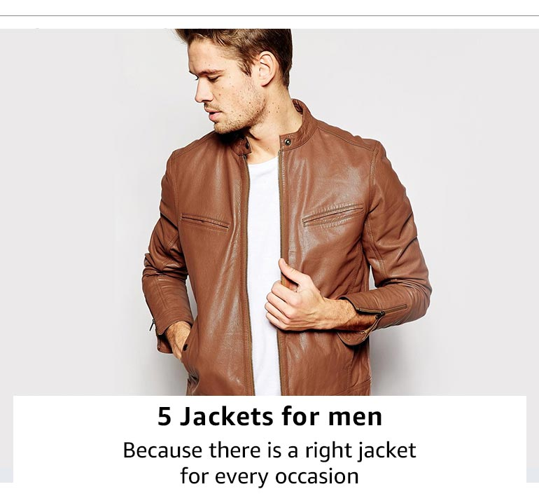 5 jackets for men