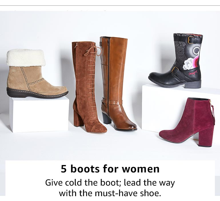 5 boots for women