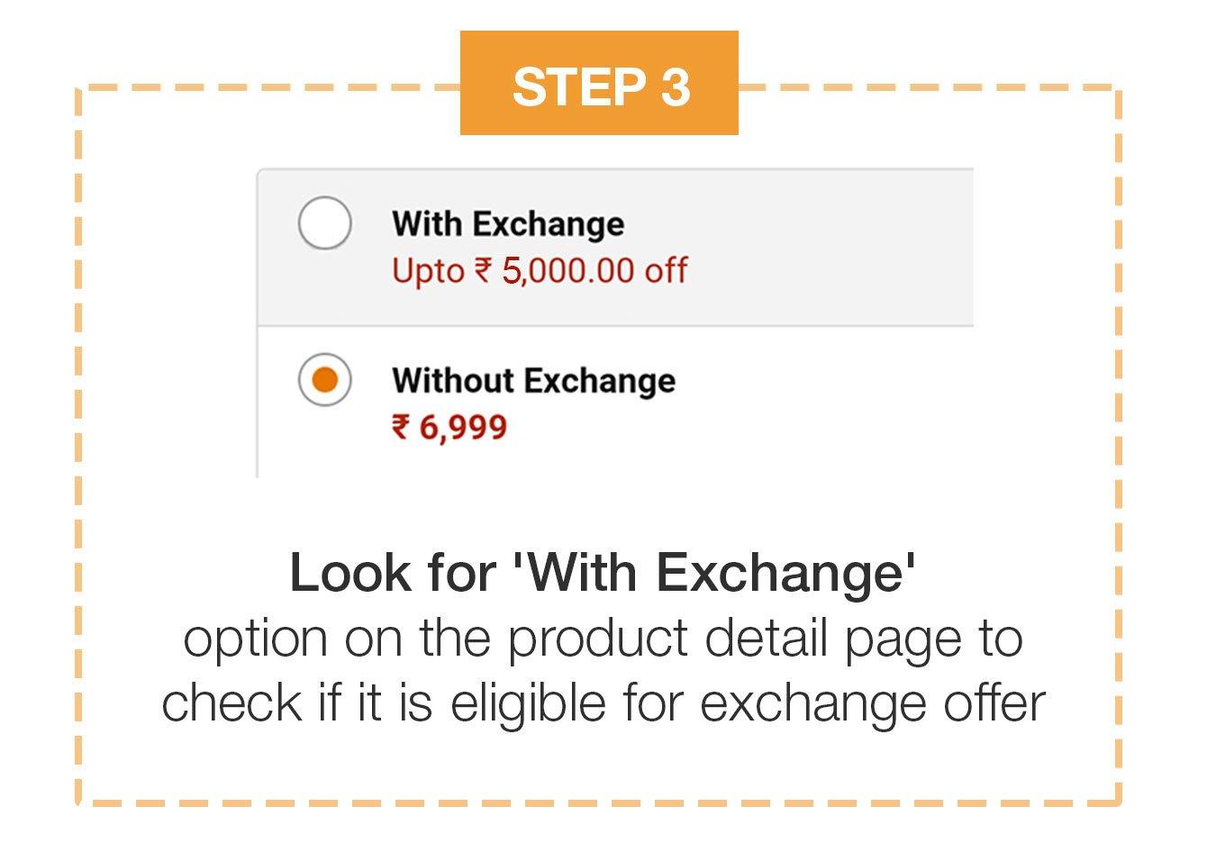 how to exchange on amazon
