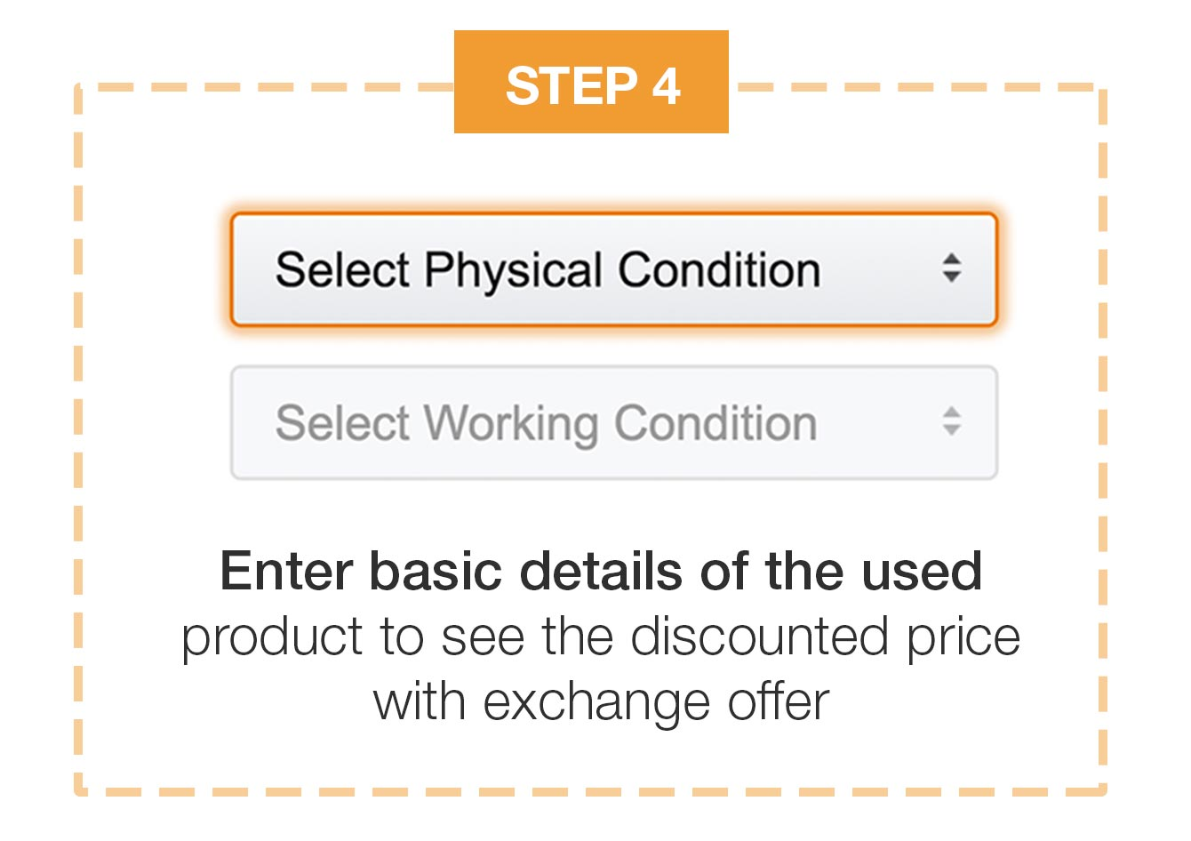 enter used product details
