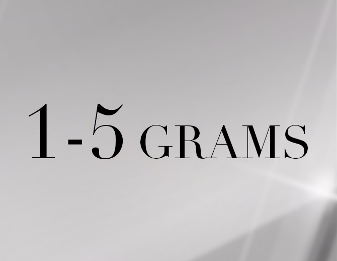 1 to 5 Gms